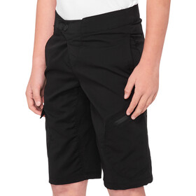 100% Ridecamp Short Adolescents, black